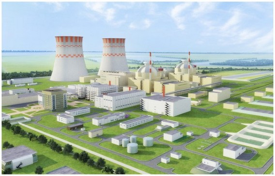 АЭС Аккую Турция Схема