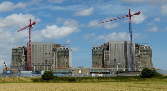 АЭС Брадуэлл. Великобритания. Фото