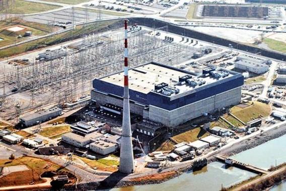 АЭС Браунз Ферри в Алабаме. США. Фото