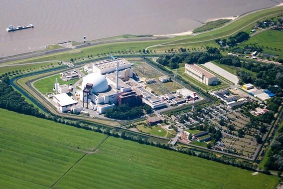 АЭС Брокдорф. Германия. Фото