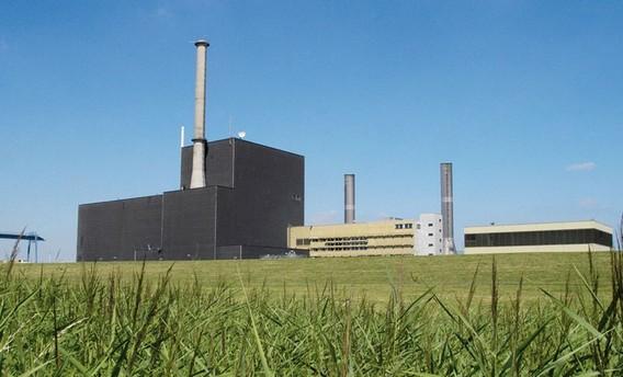 АЭС Брунсбюттель. Германия. Фото