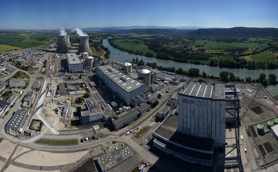 АЭС Бюже. Франция. 2017