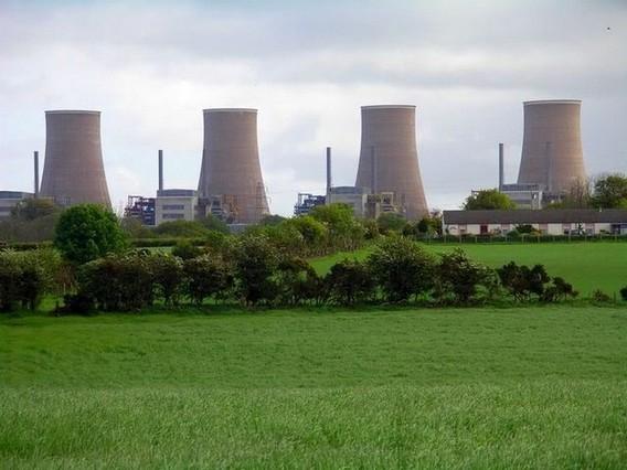 АЭС Чейпелкросс. Великобритания. Фото