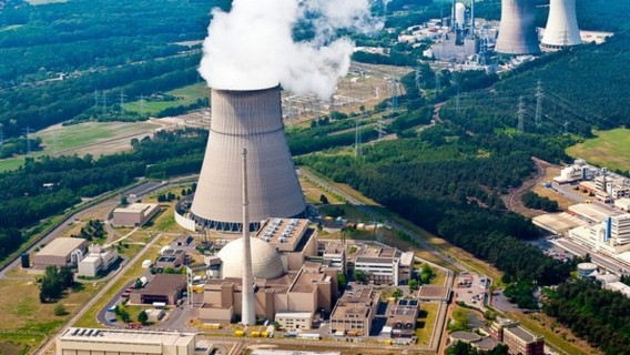 АЭС Эмсланд. Германия. Фото