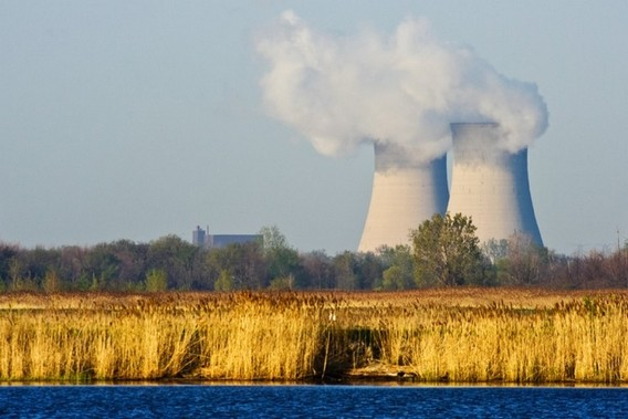 АЭС Энрико Ферми в США. Фото