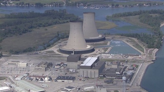 АЭС Энрико Ферми. США. Фото