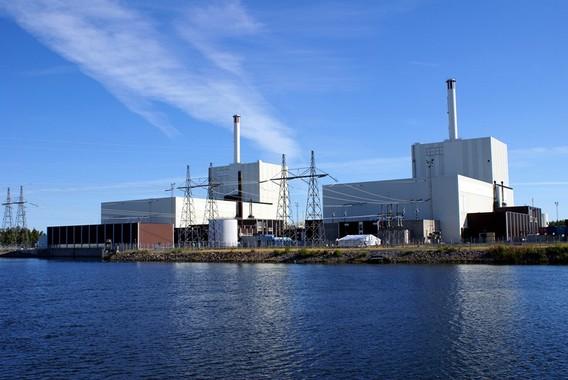 АЭС Форсмарк. Швеция. Фото