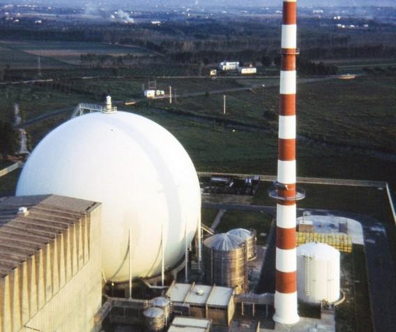 АЭС Гарильяно. Италия. Фото