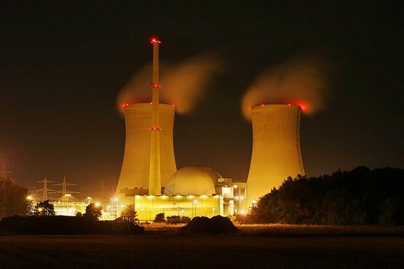 АЭС Графенрайнфельд. Германия. Фото
