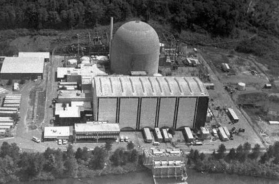 АЭС Хаддам Нек в США. Фото