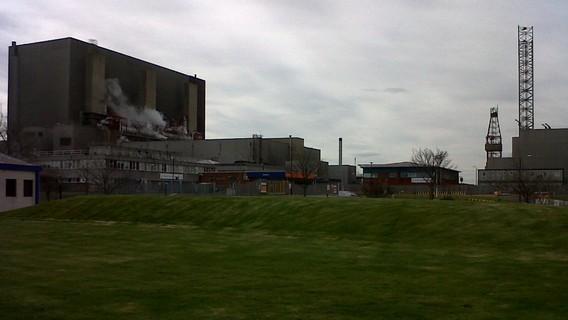 АЭС Хартлпул. Великобритания. Фото