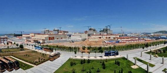 АЭС Хуняньхэ - крупнейшая АЭС Китая. Фото