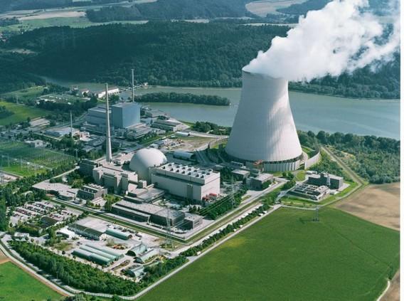 АЭС Изар. Германия. Фото