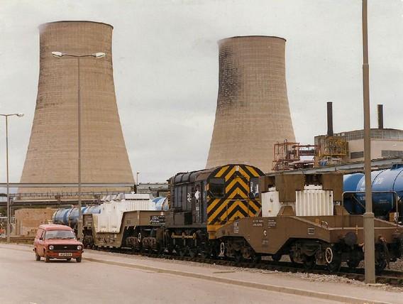 АЭС Колдер Холл - Селлафилд. Великобритания. Фото