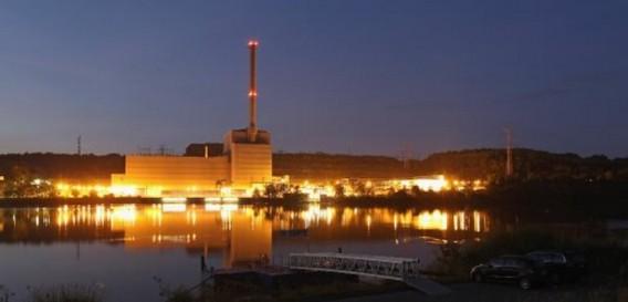 АЭС Крюммель. Германия. Фото