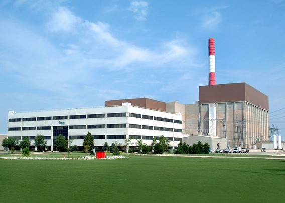 АЭС Ласаль. США. Фото