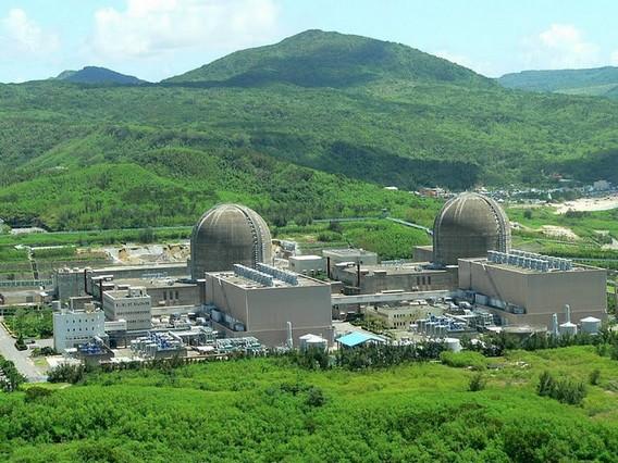 АЭС Мааншан. Тайвань. Фото