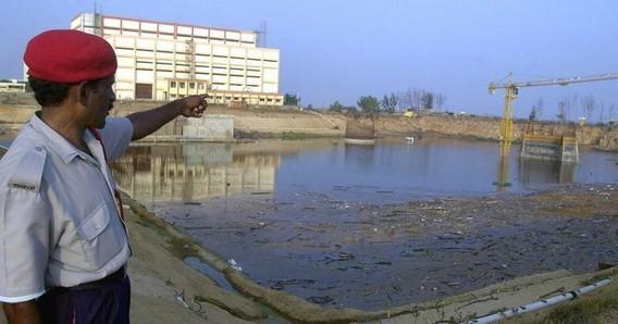 АЭС Мадрас (Калпаккам) после цунами. Индия. Фото