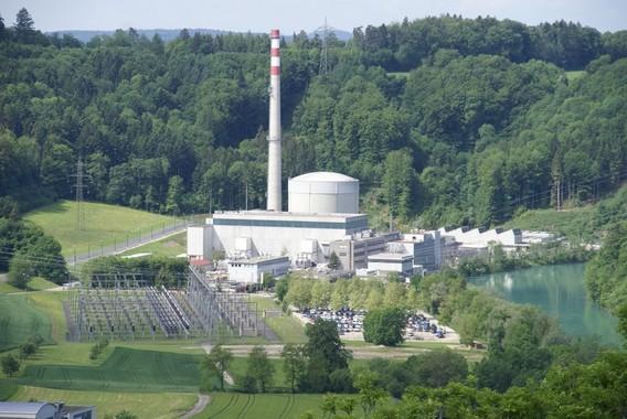 АЭС Мюлеберг в Швейцарии. Фото