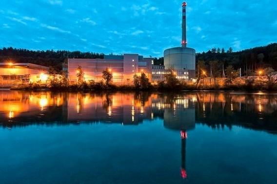 АЭС Мюлеберг. Швейцария. Фото