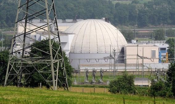 АЭС Обригхайм. Германия. Фото
