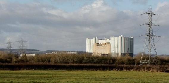 АЭС Олдбери. Великобритания. Фото