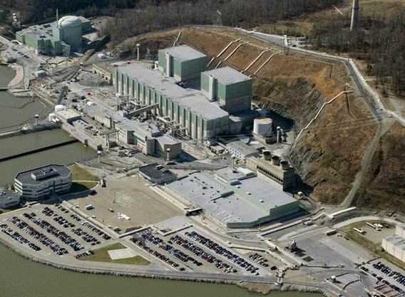 АЭС Пич Боттом в США. Фото