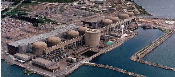АЭС Пикеринг. Канада. Фото