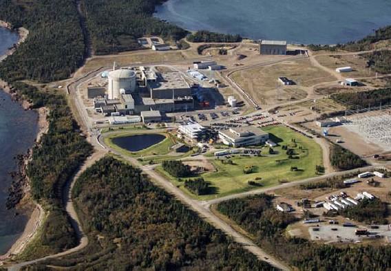 АЭС Пойнт Лепро Канада. Фото