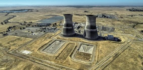АЭС Ранчо Секо в США. Фото
