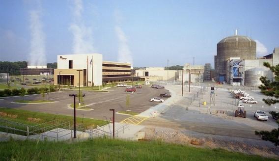 АЭС Ривер Бенд в США. Фото