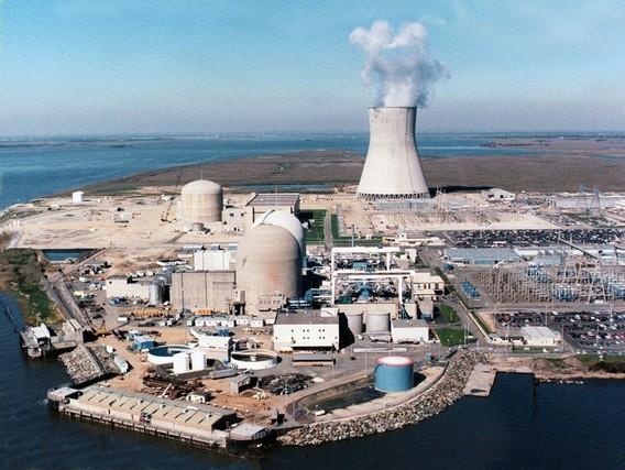 АЭС Салем и Хоуп Крик. США. Фото