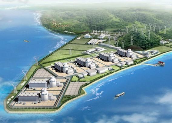 АЭС Саньмень. Китай. Макет