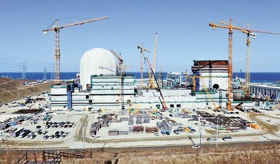 АЭС Син Ханул. Южная Корея. Фото