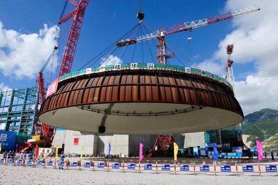 АЭС Тайшань. Китай. Фото