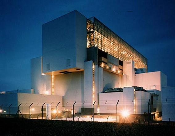 АЭС Торнесс. Великобритания. Фото