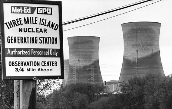 АЭС Три Майл Айленд. Фото. США