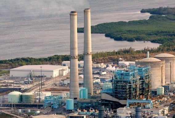 АЭС Тюрки Пойнт во Флориде. США. Фото