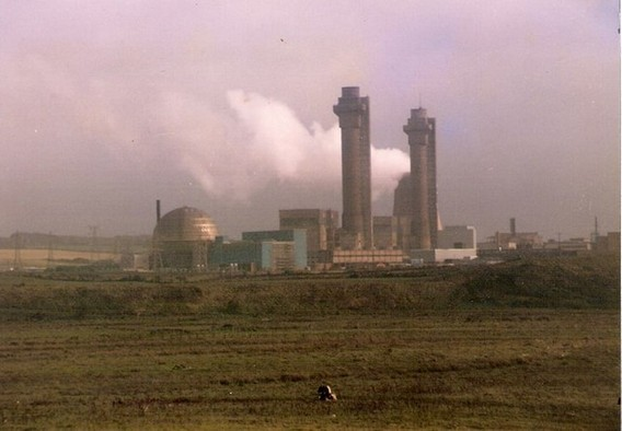 АЭС Уиндскейл (Селлафилд). Великобритания. Фото