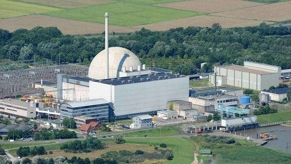 АЭС Унтервезер. Германия. Фото