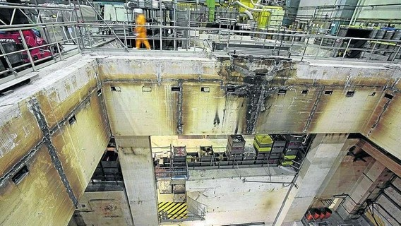 АЭС Вюргассен. 2007 год. Германия. Фото