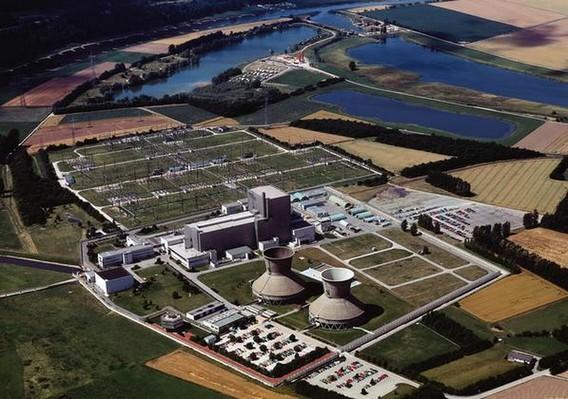 АЭС Вюргассен. Германия. Фото