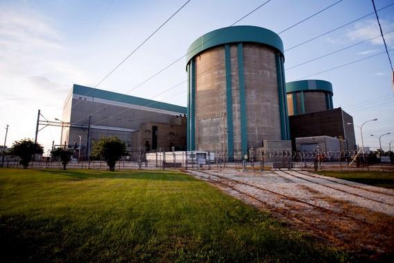 АЭС Зион. США. Фото