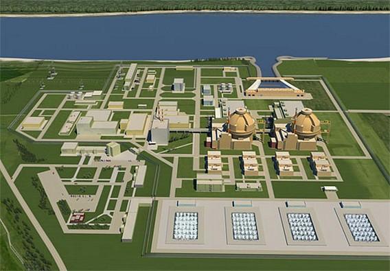 АЭС Белене Болгария. Макет проекта