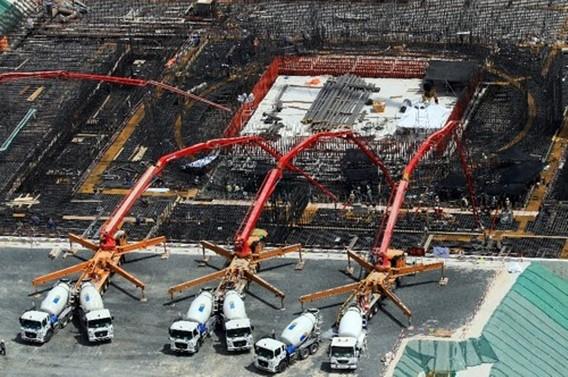 АЭС Барака ОАЭ. Строительство. Фото