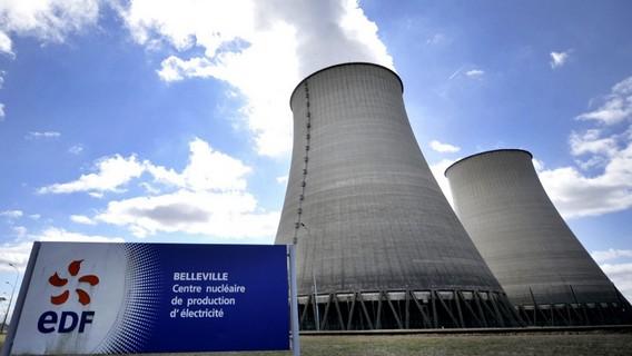 АЭС Бельвилль Франция. Фото