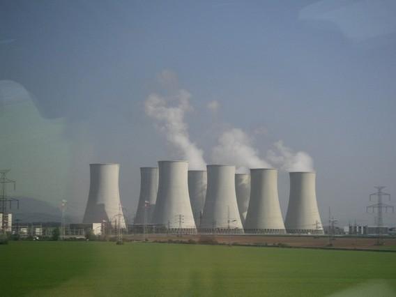 АЭС Богунице Словакия. Фото