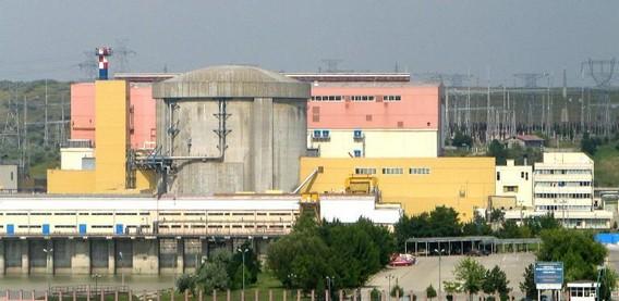 АЭС Чернавода Румыния. Фото