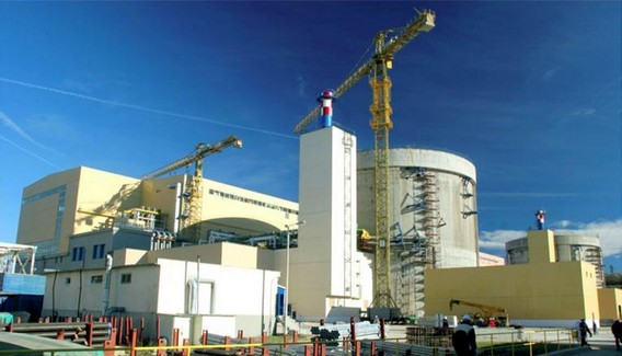 АЭС Чернавода Румыния. Строительство. Фото