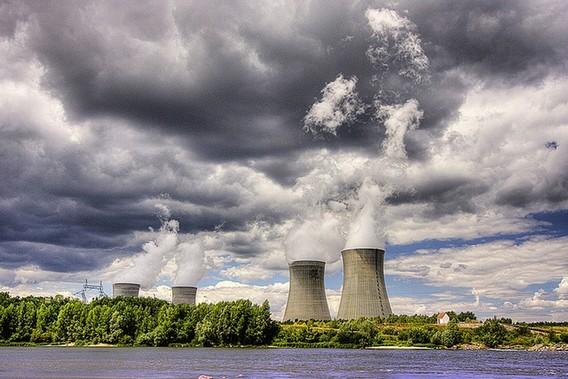 АЭС Дампьер. Франция. Фото
